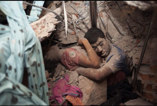Couple Dead at Rana Plaza