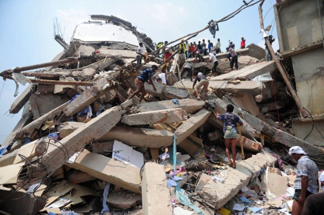 Rana Plaza In Shambles