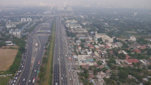 Air Pollution in Manila related to traffic congestion